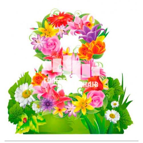 Декор для святкування 8 березня