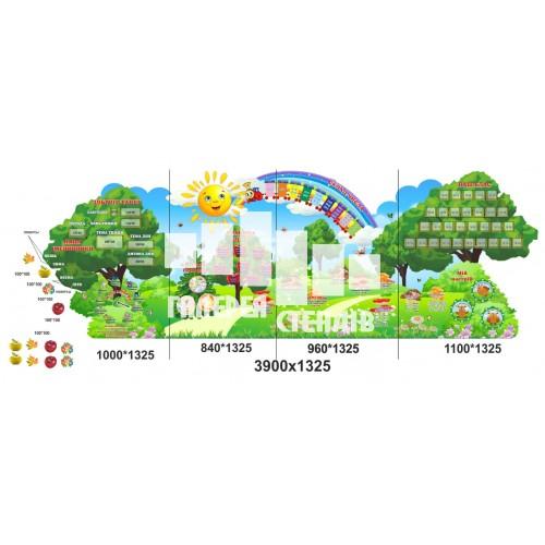 Сучасне оформлення класу початкової школи у вигляді поляни знань