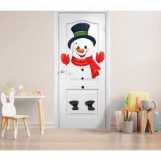 Вінілові наклейки на двері