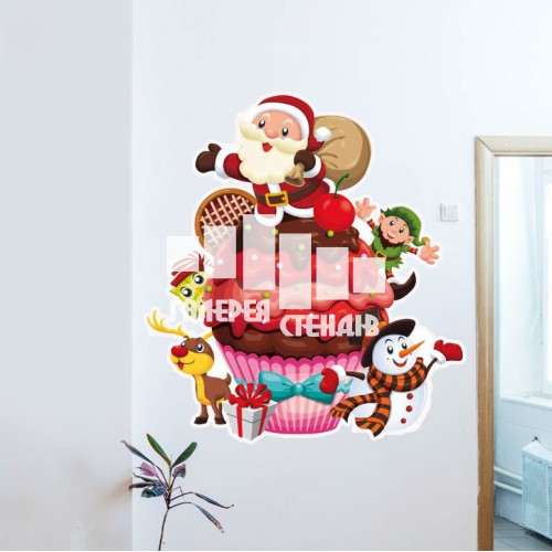 Декоративна наклейка двері та стіни