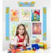 Шкільны стенди для виставки дитячих малюнків