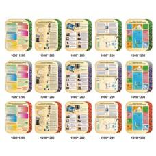 Стенди в сучасний кабінет інформатики - в різних варіантах - 5 стендів