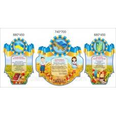 Державні символи України - стенди для школи