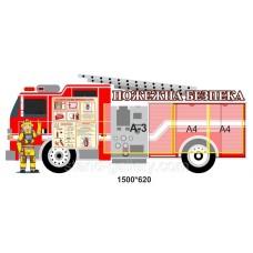 Стенд для школы Пожежна безпека