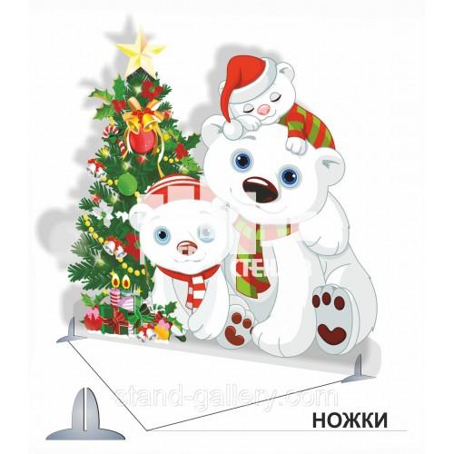 Оформление детского праздника декорация новогодняя Елка