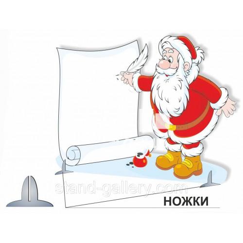 Декорація Дід Мороз на різдво
