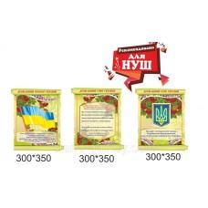 Державні та народні символи україни в зеленому комплекті