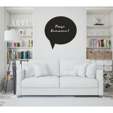 Меловая наклейка на стену Сообщения