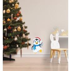 Вінілова наклейка на стіну пінгвін