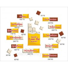 Правила класу в кабінет початкових класів НУШ - шоколадки