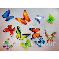 Декор метелик на стіну та меблі