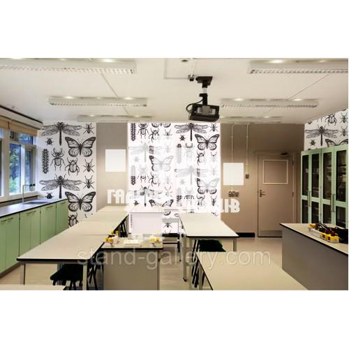 Шпалери в кабінет біології