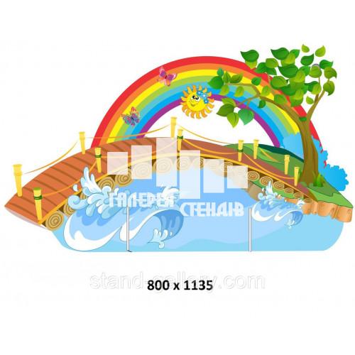 Декорація для дитячої вистави - Міст