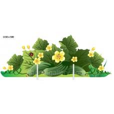 Декорація для дитячого садка - город з огірками
