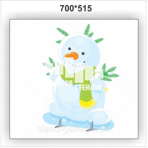 Декорация Снеговик для детского сада