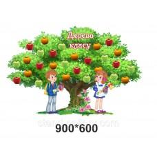 Дерево класу - стенд для школи
