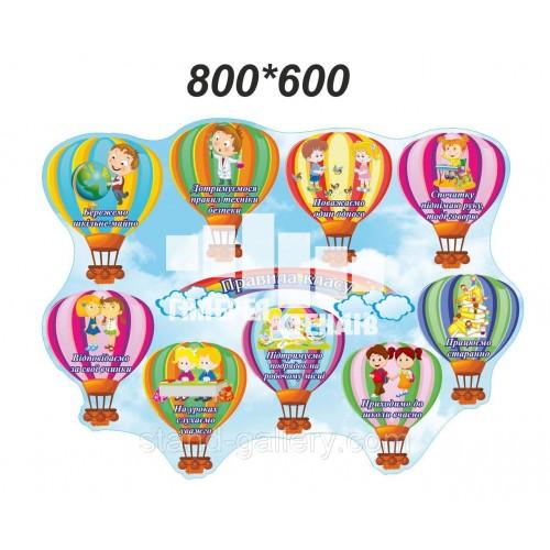 Правила класу Повітряні кульки