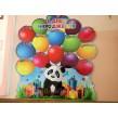 Стенд для школи: Дні народження з пандою