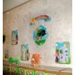 Оформление групи в дитячому садку по зонам: Хатинка