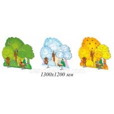 Декорація дерева казкового лісу - літо, зима, осінь