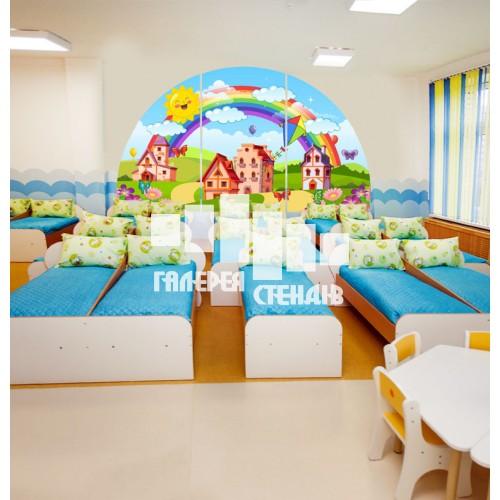 Оформлення коридорів в дитячому садку та групи