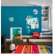 Оформлення дитячої кімнати - стильний куточок творчості корабель пригод