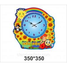 """Настенные часы """"Подсолнухи"""""""