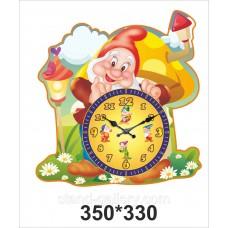 """Настенные часы """"Гномик"""""""