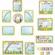 Оформлення стендів у дитячому садку: група Алфавіт