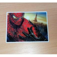 """Декоративный и сувенирный виниловый магнит на холодильник из серии: """"Супергерой"""": человек-паук"""""""