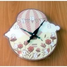 """Необычные оригинальные настенные часы """"Воздушный шар"""""""