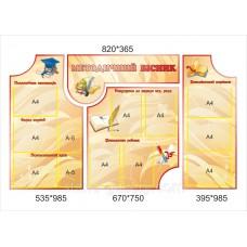 Методичні стенди для оформлення коридорів школи: Методичний вісник