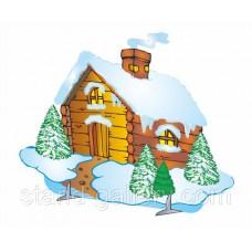 Декорация Зимний дом