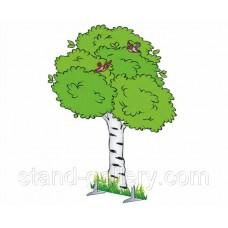 Декорація дерево Береза літня