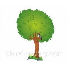 Декорація для сцени Дерево летнее, осеннее, зимнее