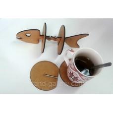 Оригинальная подставка под чашки