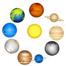 Планети - шкільні стенди (Планеты солнечной системы)