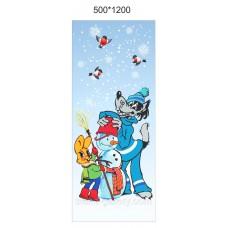 """Новогоднее украшение Баннер """"С новым годом!"""""""