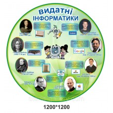 Сучасний стенд для школи: Видатні інформатики