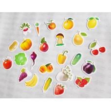 Дидактический материал  Овощи и фрукты