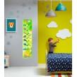 Дизайн дитячої кімнати: зелений ростомір