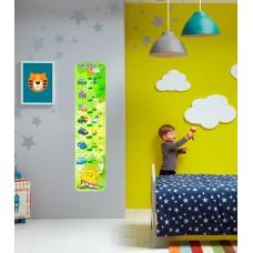 Зростомір для оформлення дитячої кімнати