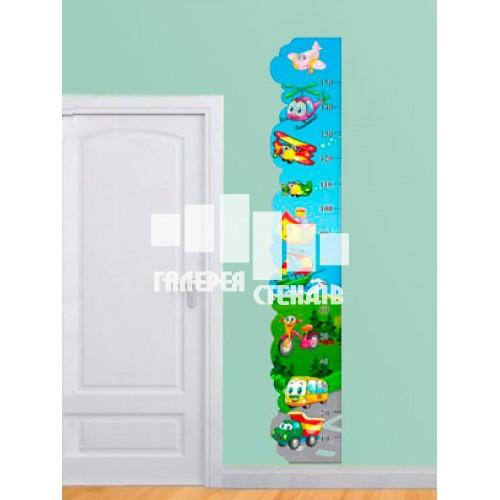Дизайн дитячої кімнати: самольотики ростомір