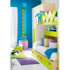 Зростомір для оформлення дитячої кімнати - пальма