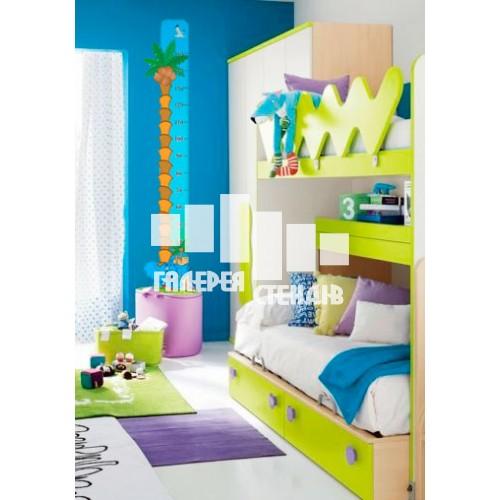 Дизайн дитячої кімнати: пальма ростомір