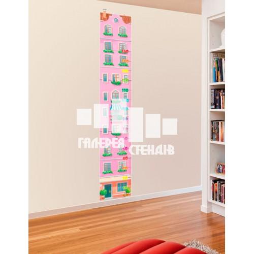 Дизайн дитячої кімнати: рожевий ростомір