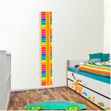 Зростомір для оформлення дитячої кімнати - олівці