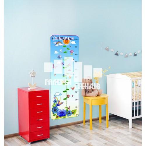 Дизайн дитячої кімнати: ростомір блакитний