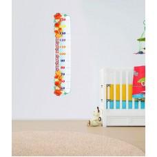 Зростомір для оформлення дитячої кімнати в українському стилі