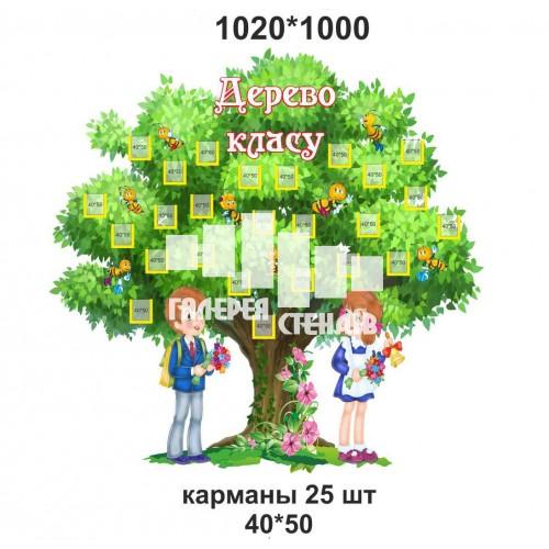 Дерево класу - стенд для фото